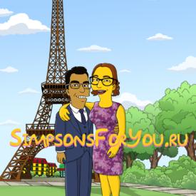 Подарок парижанам и любителю Парижа
